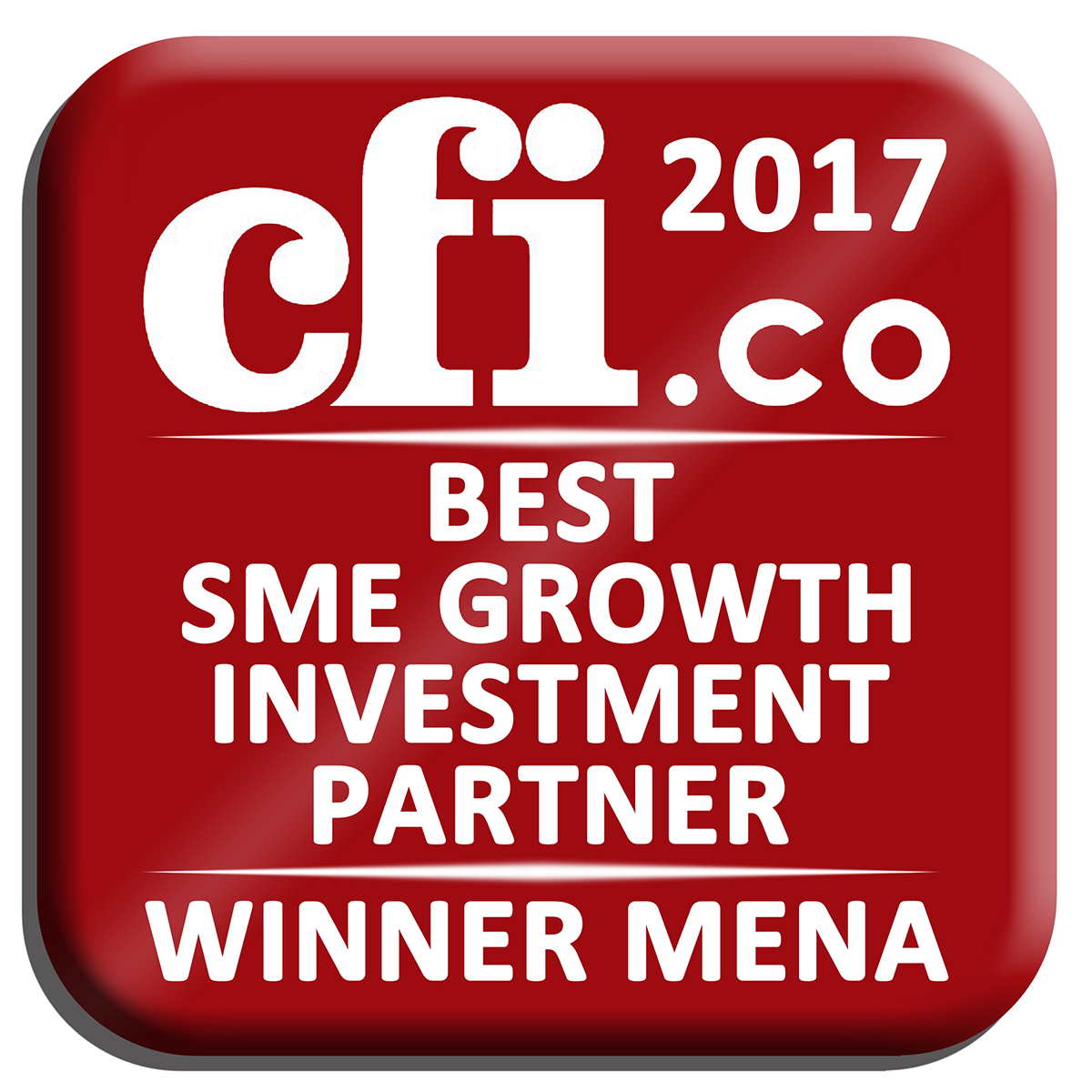 CATALYST PARTNERS WINS THE PRESTIGEOUS CFI AWARD FOR 2017 BEST SME GROWTH INVESTMENT PARTNER – MENA